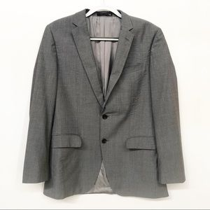 Hugo Boss The James Super 100 Gray Suit Jacket 40R